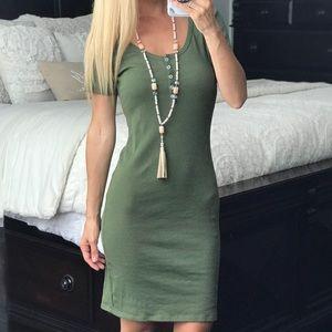 American Apparel Green Dress